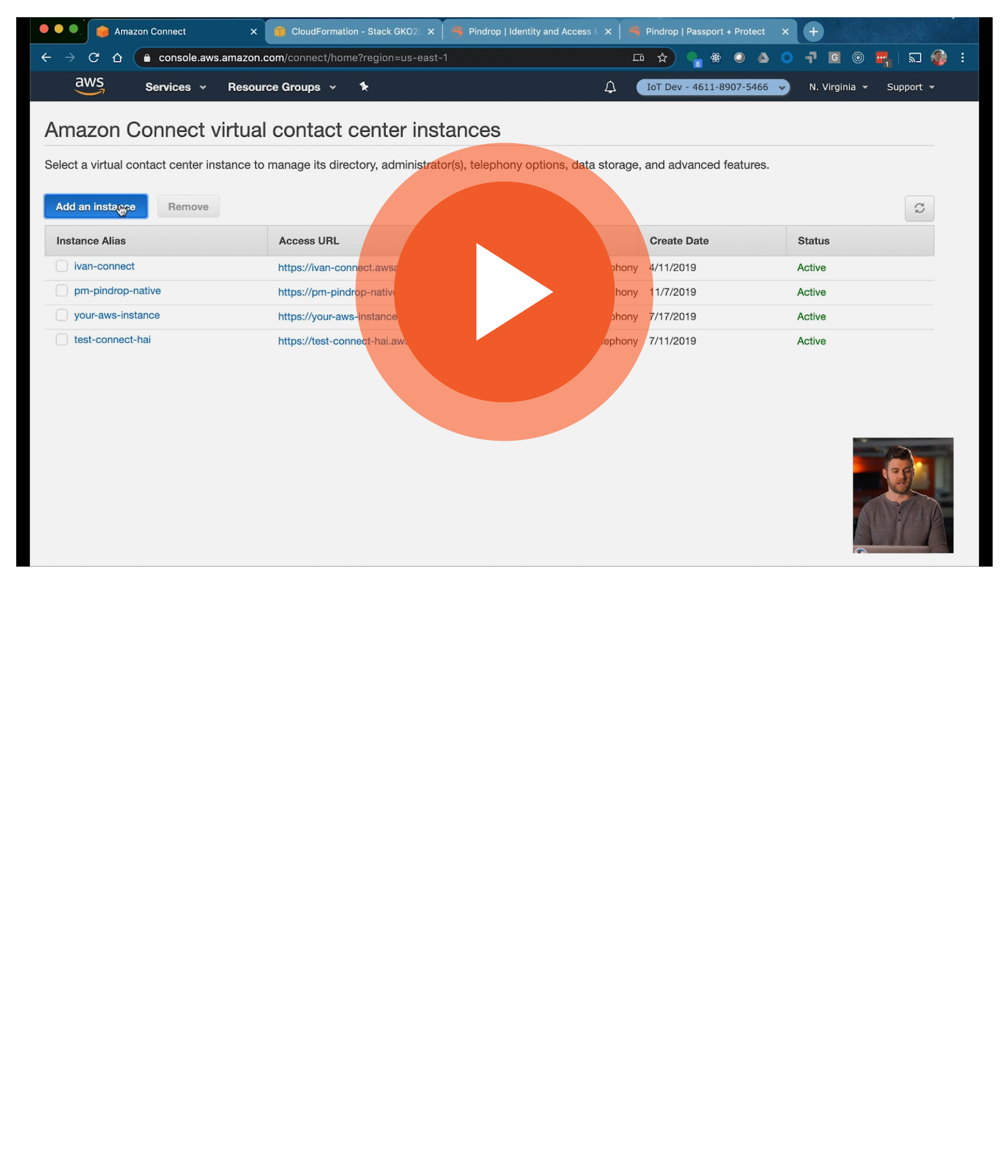 Pindrop - Amazon Connect - Play Video